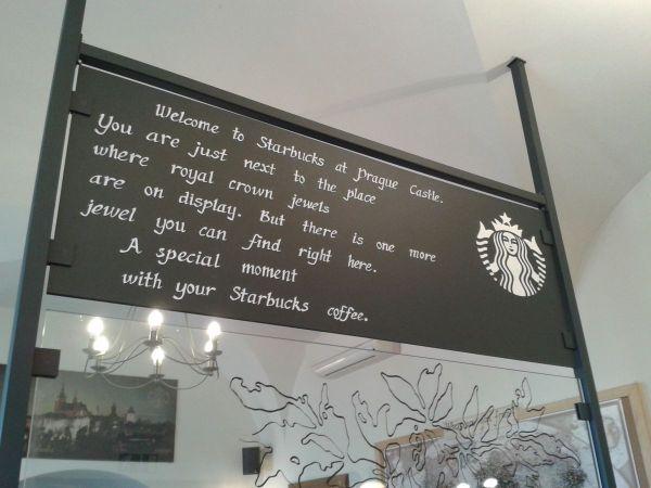 Starbucks at Prague Castle