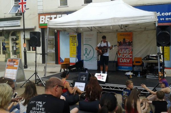 Aldershot Live Music Day acoustic set
