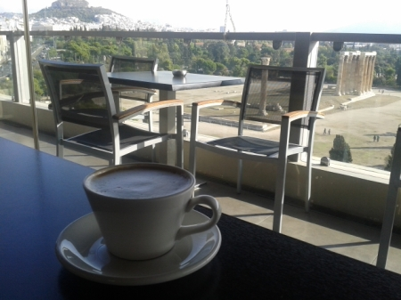 cappuccino with a view